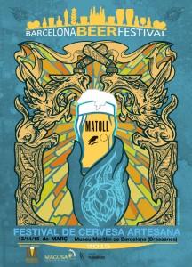 Barcelona Beer Festival Cartell
