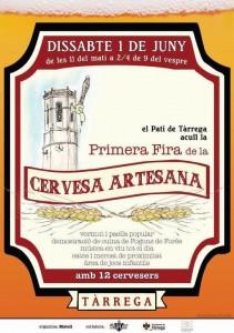 Cartell Fira Cervesa Artesana Tàrrega 2013