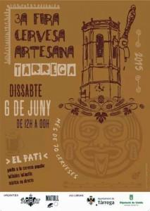 Cartell Fira Cervesa Artesana Tàrrega 2015