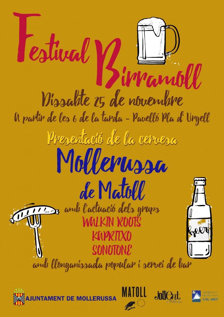 Festival Birramoll Cartell